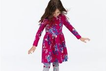 Girls Dresses / Our collection of girls dresses are party and playtime perfect. Discover floral prints, spots and bold stripes in the finest, in quality fabrics that will be loved by mums and girls all over the land. http://bit.ly/1Px7uWx