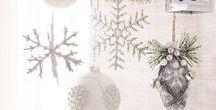 A Very Merry Powell Pack: Christmas Decor / The Powell Pack Holiday Decorations, Christmas Tree Decor, Black and White Christmas Decor, Silver Christmas Decor, Pottery Barn Stockings
