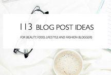 bloggin. / blog tricks + tips