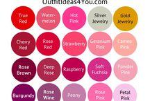 colours outfits palette