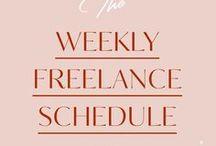 freelancing. / freelance tips + tricks