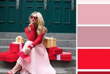Colours outfits rosso/arancio/bordeaux/Borgogna