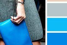 Colours outfits blu/grigio