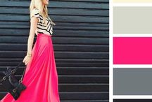 Colours outfits outfit fuxia