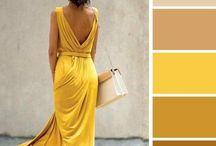 Colours outfits giallo