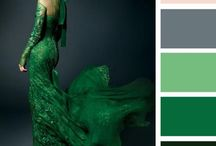 Colours outfits verde