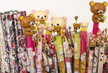 Japanese Stationery / http://www.modes4u.com/en/cute/c121_Stationery.html