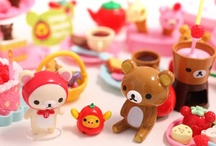 Re-Ment Miniatures Collection / many miniature sets of brands like Disney, Hello Kitty or Rilakkuma: http://www.modes4u.com/en/cute/c197_Re-Ment-Miniature.html