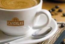 Café soluble y en grano / Gama de productos de cafés soluble y en grano para su utilización en Hostelería y consumo doméstico. De venta también en supermercados y on line en www.tiendacandelas.com
