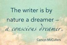 Inspiring Words. / Quotes that inspire me to write