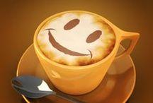 El café, mejor en una original taza.