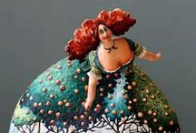 Art -  Clay, Porcelain, Wood, Glass etc / by Barbara Taylor