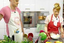 Koch- und Backvideos