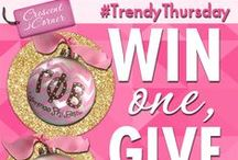 #TrendyThursday / Each Thursday, Gamma Phi Beta Sorority features a trendy product from our official store, Crescent Corner! One lucky person will win either the item shown for the week, or all items show in a month! Be sure to like, RT and share on all social media platforms: Facebook, Twitter, Instagram and Pinterest, for more chances!