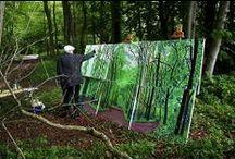 Artist At Work  / Art , the Artist & the Process