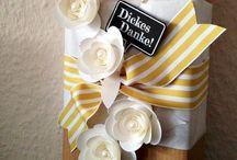 Geschenkverpackungen {Gift Wrapping}