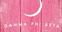 Gamma Phi Winter Wonderland! / 'Tis the Season! Here are some winter-inspired Gamma Phi Beta images!