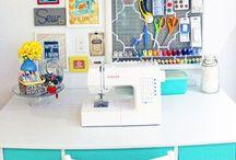Nähzimmer {Sewing Room}