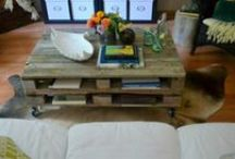 Pallet projects / Upcycle pallets into functional furnishings / by cindy joseph