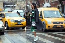 Street Style at New York Fashion Week / by Grazia UK