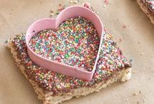 sprinkles! / Sprinkles make everything taste better, so it's smart to add them to ALL THE THINGS. Rainbow, chocolate, vanilla - it doesn't matter, sprinkles just make everything okay. / by Mom Spark // MomSpark.com