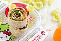 lunchbox ideas for kids. / Create and easy ideas for your kiddo's school lunches! / by Mom Spark // MomSpark.com
