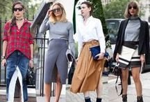 Grazia 360: Style Hunter London / The best street style looks from London Fashion Week SS15... / by Grazia UK