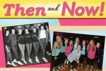 Then and now! / Gamma Phi Beta... the same, then and now!