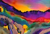 Alcohol Inks / by Christine Purdy