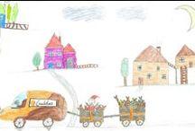 Concurso de dibujo infantil navideño 2014 / Convocamos un concurso navideño de dibujo infantil, para hijos e hijas de nuestros empleados. El dibujo ganador será la imagen oficial de felicitación navideña de Cafés Candelas.