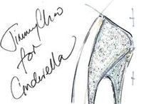 Cinderella: 9 Designers of the Shoe / To see the article in detail go to: http://www.graziadaily.co.uk/2015/02/cinderella-shoes-slippers-disney-designers#.VNo5H1JF0dU / by Grazia UK