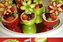 Smart Summer Snacking / Fast & Simple Ideas For All Your Favorite Summer Snacks!!! Kept Fresh & Ready By Using Tupperware's FridgeSmart 4-Pc Collection / by Alicia Vara