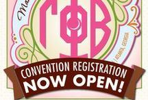Gamma Phi Beta Convention 2016 / Gamma Phi Beta's 77th International Convention is in Atlanta Georgia. We'll be Making Our Mark June 22-26, 2016! #MakingOurMark