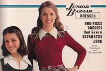 1970s / Fashion and costumes from the 1970s.