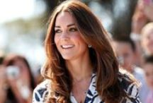 Kate Middleton Style File / A collection of a real life princesses style.  / by Grazia UK
