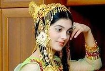 Eurasia / Life and costumes from the Caucasus to Northern Asia.