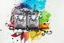 Color Techniques (pens, pencils, paints) / by Heather Cron