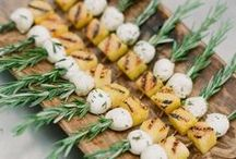FOOD AND DRINK / Wedding food and drink inspiration