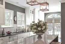 Kitchen Love / The kitchen. My favorite room in the house. Ideas for bigger, better ones and dream kitchens I'd love to have. / by Monica McPherrin