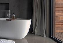 Baño / Colección de espacios para el baño y el aseo.