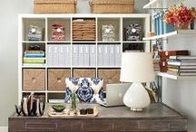 Organizing / How to store and organize everything in your life.  / by Yolanda Eriksen Funk
