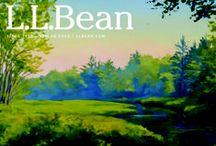 L.L.Bean Catalog Covers