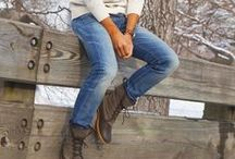 Bean Boot Style / This is how real people rock L.L.Bean Boots.