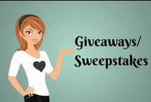 Giveaways/Sweepstakes / by Rude Mom Blog©
