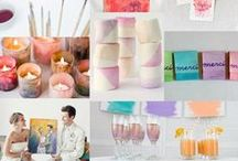 Inspiration Boards / Get inspired with different themes and color palettes