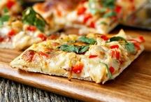pizza / by Tiffany Myers