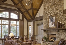 lodge theme makeover / by Tiffany Myers