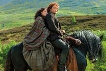 """Outlander Series / """"Stories you read when you're the right age never quite leave you. You may forget who wrote them or what the story was called. Sometimes you'll forget precisely what happened, but if a story touches you it will stay with you, haunting the places in your mind that you rarely ever visit."""" ~Neil Gaiman, 'M Is for Magic' ~NOTE: Most Scotland pins are on the 2 Scotland Boards. / by Susan Tomasallo #1"""