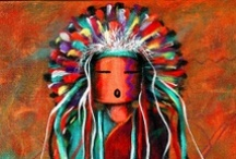 Native Americans (CURRENT) / My great-grandmother was Choctaw, and my Mother was very proud. Our home had Southwest and Native American decor, which is now in my home. My grandparent's rest / by Susan Tomasallo #1