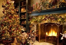 Christmas ❄ Fireplaces / by Karen Boisselle Resinski